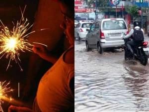 Diwali Sales Affeted Due Rain