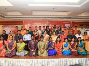 Chennaiyil Thiruvaiyaru Season 11 Press Meet Stills Press Release