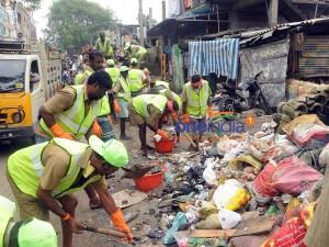 Chennai Floods Wastes Being Dumped At Perungudi Kodungaiyur
