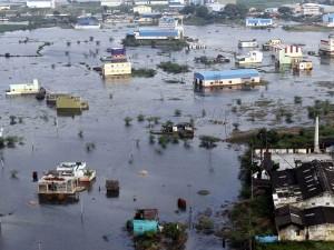 Land Water Level Increases Chennai