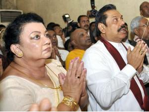 Former Sri Lankan President Mahinda Rajapaksa S Wife Was Int