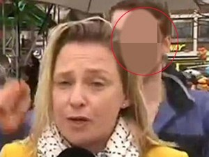 Shocking Journalist Sexually Assaulted On Live Television Germany