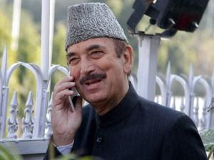 Congress Leader Ghulam Nabi Azad Meets Press
