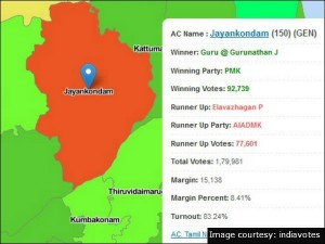 Jayankondam Constituency Round Up