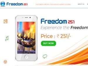 Freedom251 Website Shuts Due Net Traffic Buy