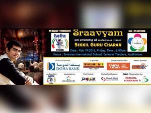Sraavyam Music Concert Dubai Today