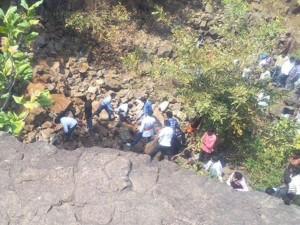 Landslide Mp Shiva Temple