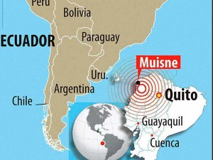 Ecuador Earthquake Kills Raised