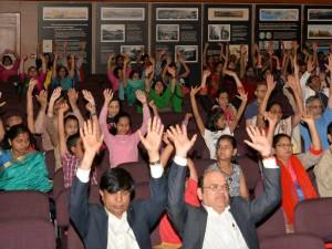 Sahaja Yoga Meditation Programme Held Muscat