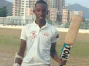 Trinidad S Iraq Thomas Smashes T20 Century 21 Balls Breaks Gayle Record