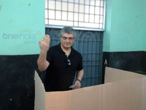 Election Officer Ink Wrong Finger Ajith