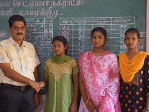 Karaikudi Municipal School Students Excell Sslc Exams