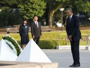 Us President Obama Visits Hiroshima