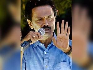 Ops Should Stop Making Rift Between Me Karunanidhi Says Stalin Jun