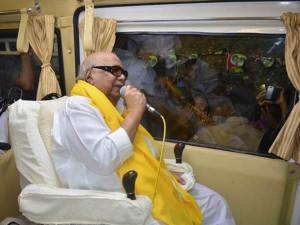 Karunanidhi Thanks Giving Thiruvarur Voters His Victory