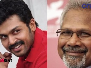 Date Fixed Mani Ratnam Karthi Film Shooting