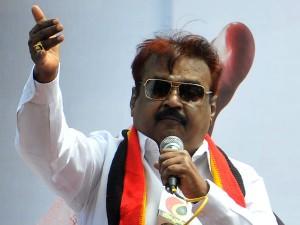 Vijayakanth Slams Tn Govt On Fishermen Issue