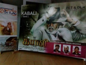 Fans Celebrating Kabali Nigeria