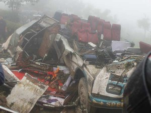 Former Nepal Minister Among 13 Killed Bus Accident