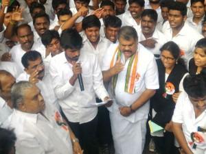 Cancel Education Loan Tmc Protest Chennai