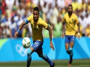 Rio Olympics 2016 Neymar Creates History As Brazil Thrash