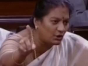 Will Sasikala Pushpa Join Vijayakanth Dmdk