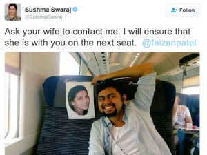 Husband Leaves Alone Honeymoon Sushma Swaraj Steps In
