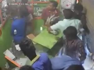 Kovai Violence Mobile Theft Caught On Cctv