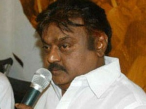Vijayakanth Upset Over Party Functionaries Opinion