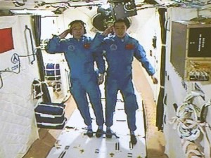 Chinese Astronauts Enter Space Lab Tiangong 2