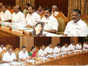 O Pannerselvam Head Cabinet Meeting Today