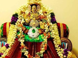 Three Stages Personified Durga Lakshmi Saraswati