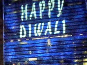 Un Headquarters Lights Up Diwali