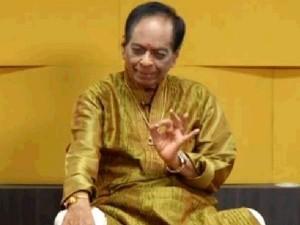 Carnatic Vocalist Siva Chidambaram Tributes Balamurali Krishna