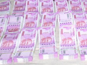 24 Crore Rupees Seized From Car From Sekar Reddy Are New 2000 Rs Notes