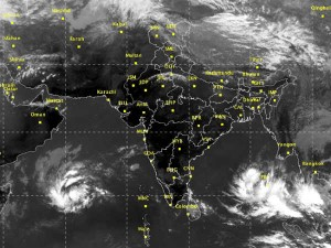 New Depression Formed Near Andaman Chennai Meteorological Center