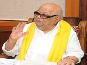 Karunanidhi Back Home