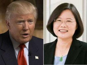 Trump Speaks With Taiwan President Risking Chinese Anger