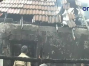 Theni Fire Accident One Lakhs Worth Things Destroyed