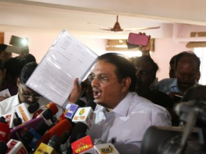 Gopanna Condemns Rammaohana Rao His Outburst Against It Raids