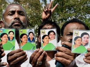 V K Sasikala S Photo Sales Start At Admk Head Office