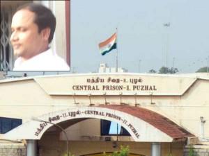 Sekhar Reddy Lodged 1st Class Prison