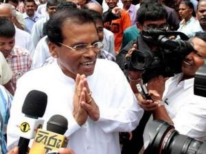 Sri Lanka President Mythri Bala Sirisena Condolence Message