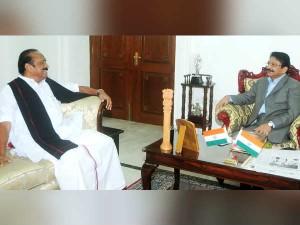 Vaiko Meets Governor Vidyasagar Rao
