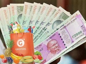 Yes Bank Grofers Partners Deliver Cash At Doorstep