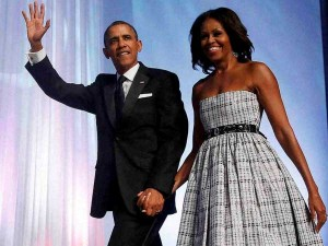 Obama Family Leaves White House