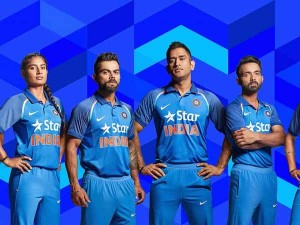 Check Team India S New Jersey With 4d Quickness Zero Distractions Features