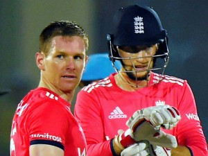 Eoin Morgan Complain Against Umpire Shamshuddin Hammer Blow