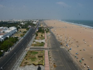 Marina Beach Now Becomes No Man Land