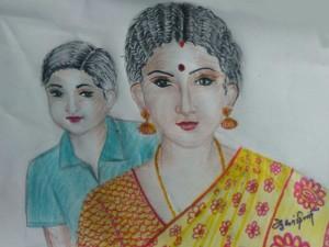 Latha Saravanan S Kakithapookkal Story